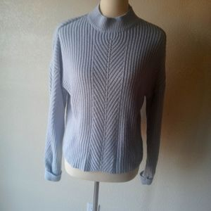 TOPSHOP BABY BLUE KNIT SWEATER